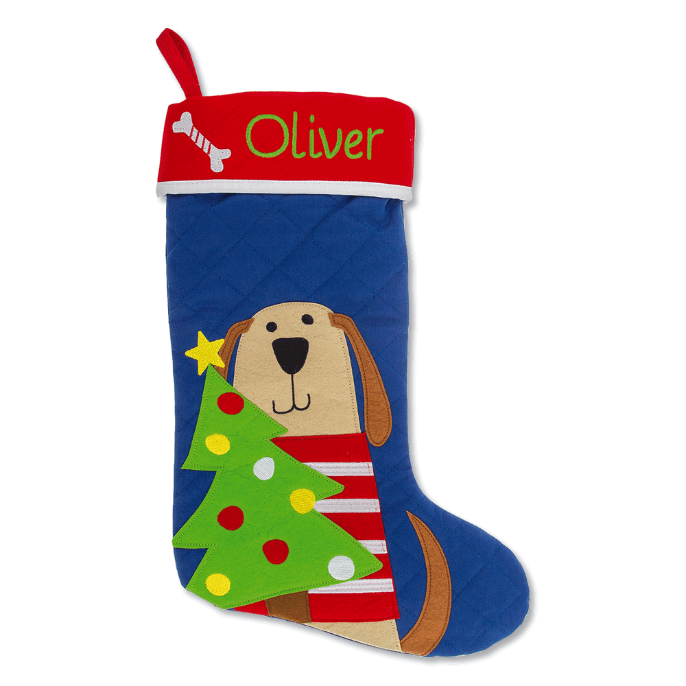 Dog Personalized Christmas Stocking by Stephen Joseph®