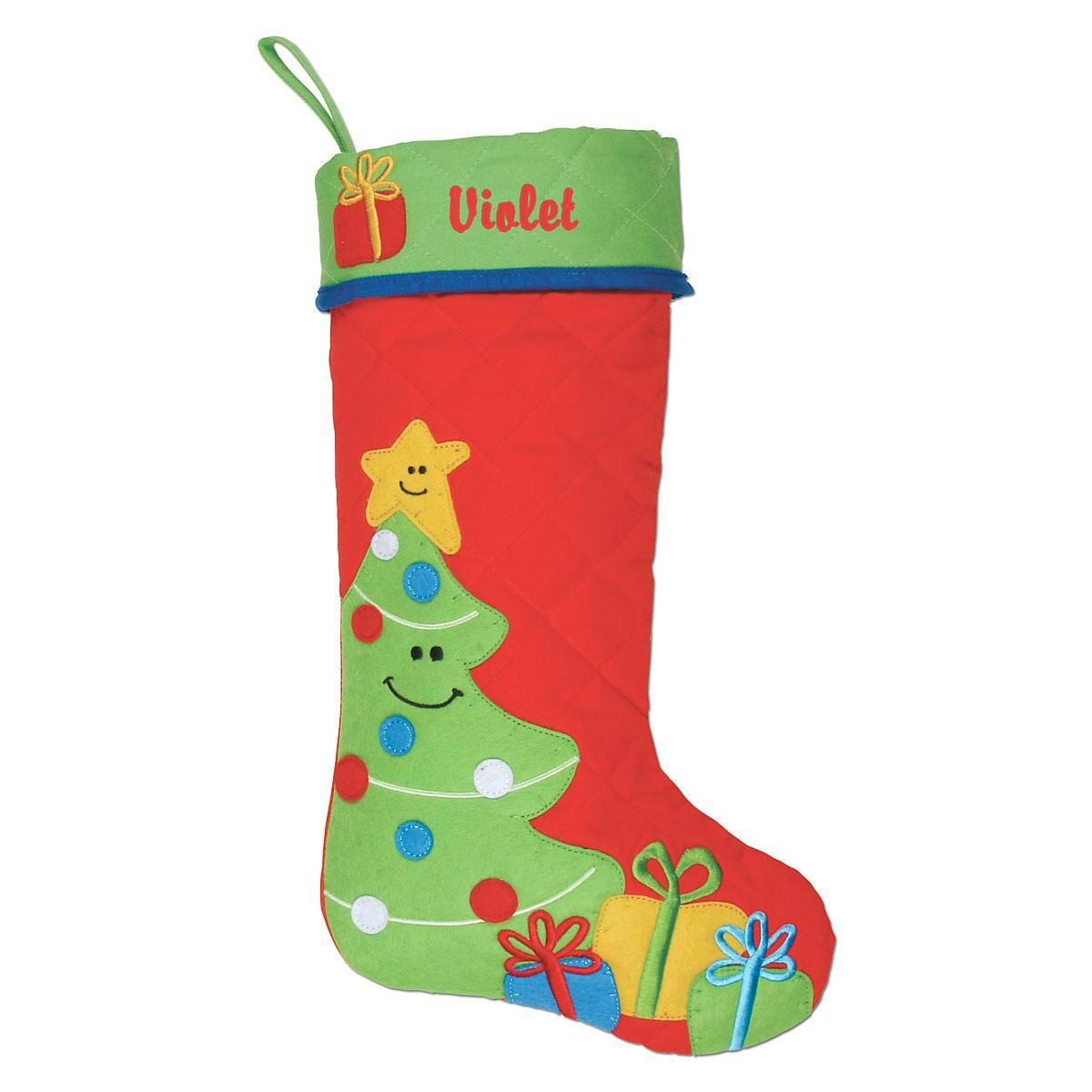 Christmas Tree Personalized Christmas Stocking by Stephen Joseph®