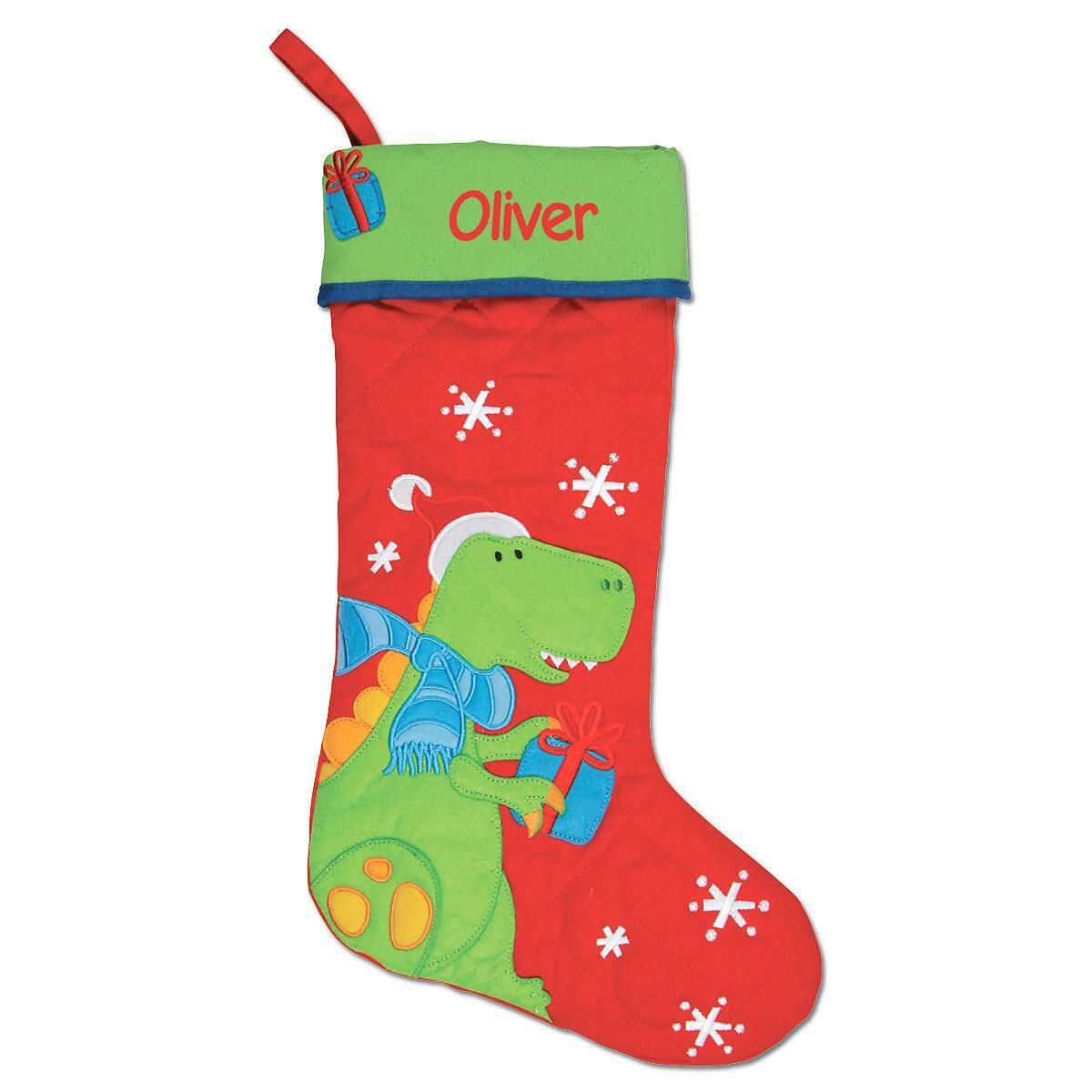 Dino Personalized Christmas Stocking by Stephen Joseph®