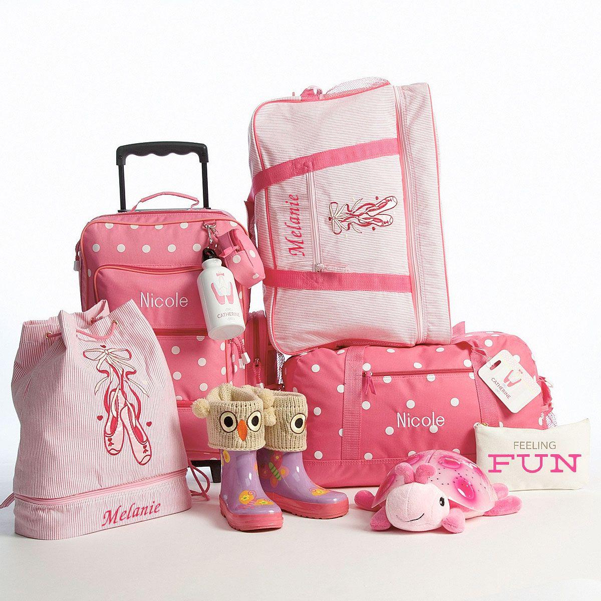 Pink Ballet Bag