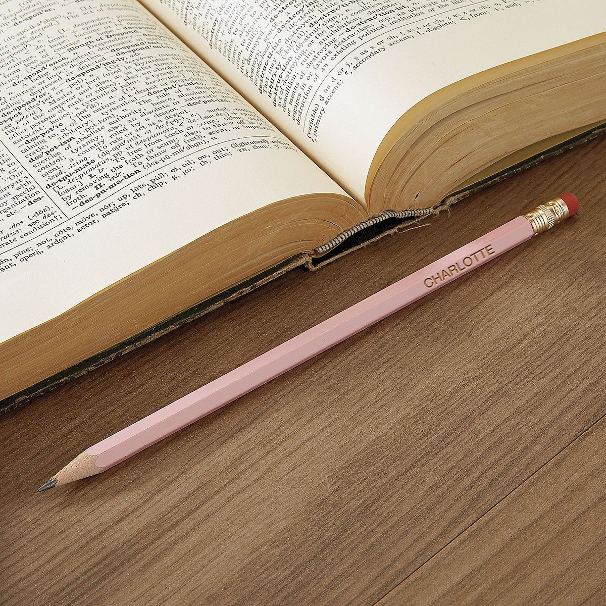 #2 Personalized Hardwood Pencils - Pastel