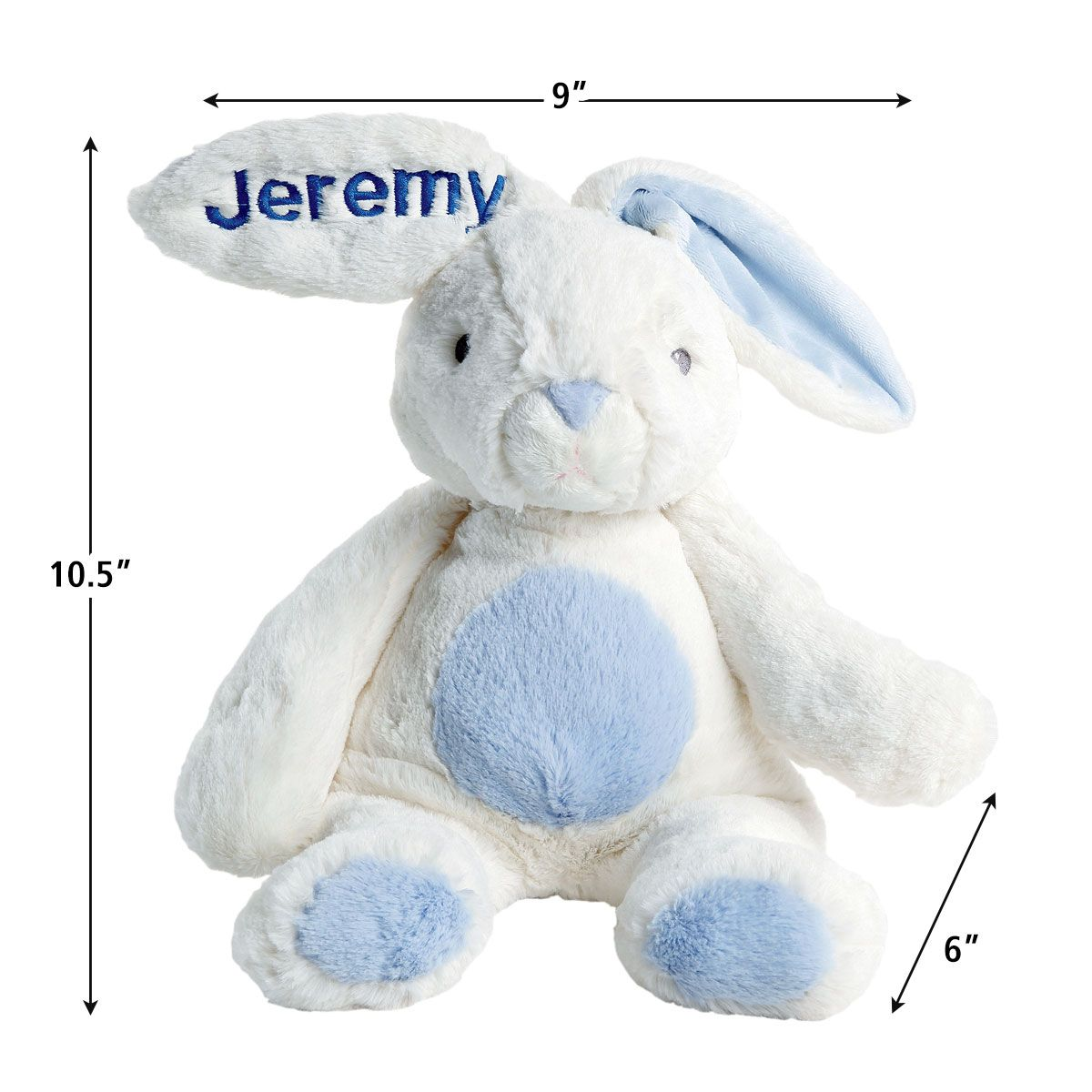 Blue Personalized My First Bunny