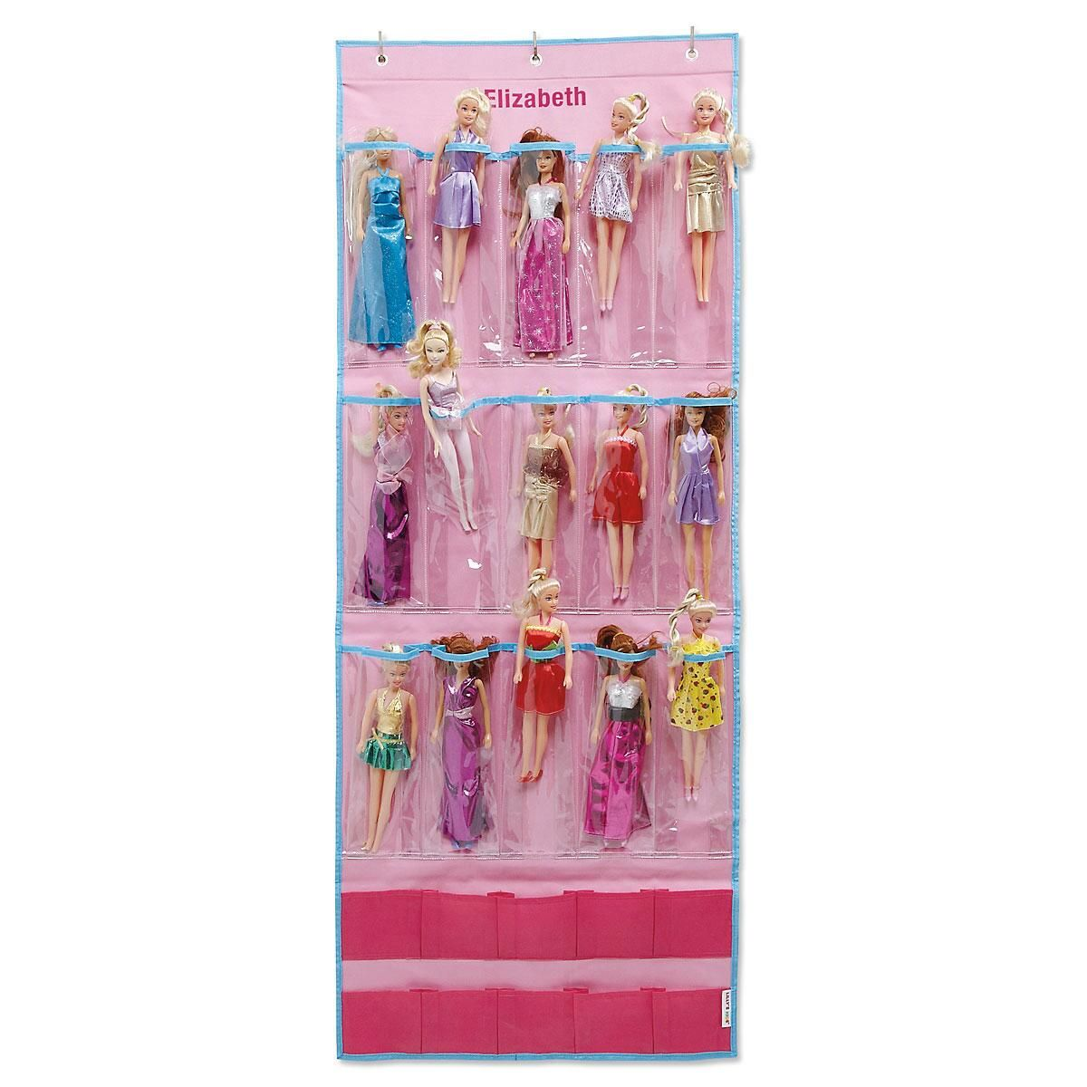 Personalized Doll Collection Organizer