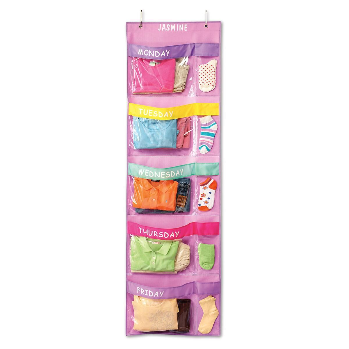 Days-Of-The-Week Hanging Organizer