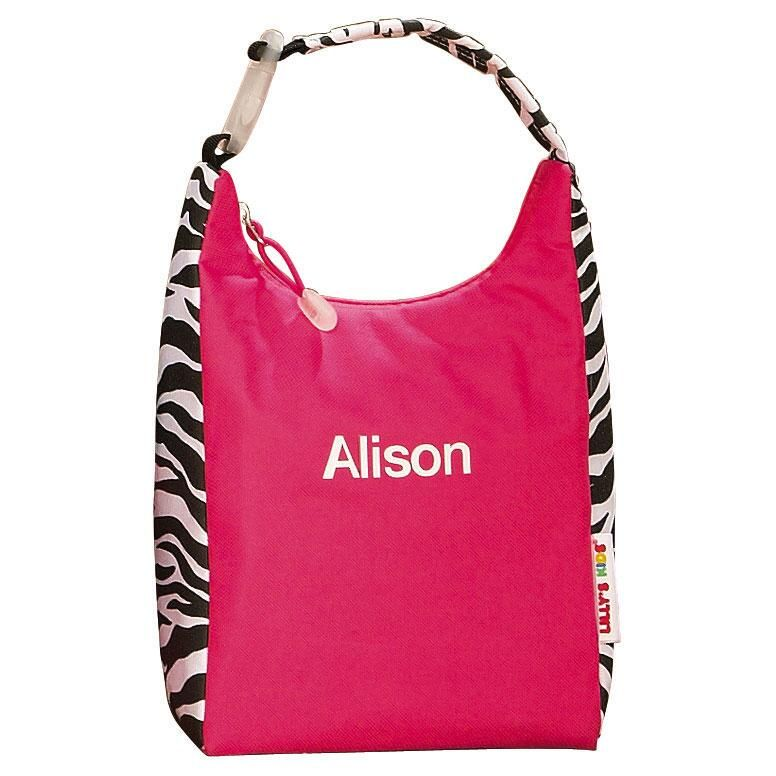 Zebra Print Lunch Bag