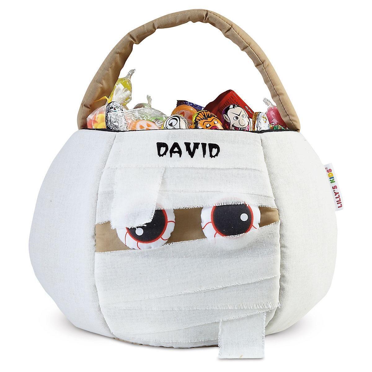 Mummy Halloween Basket