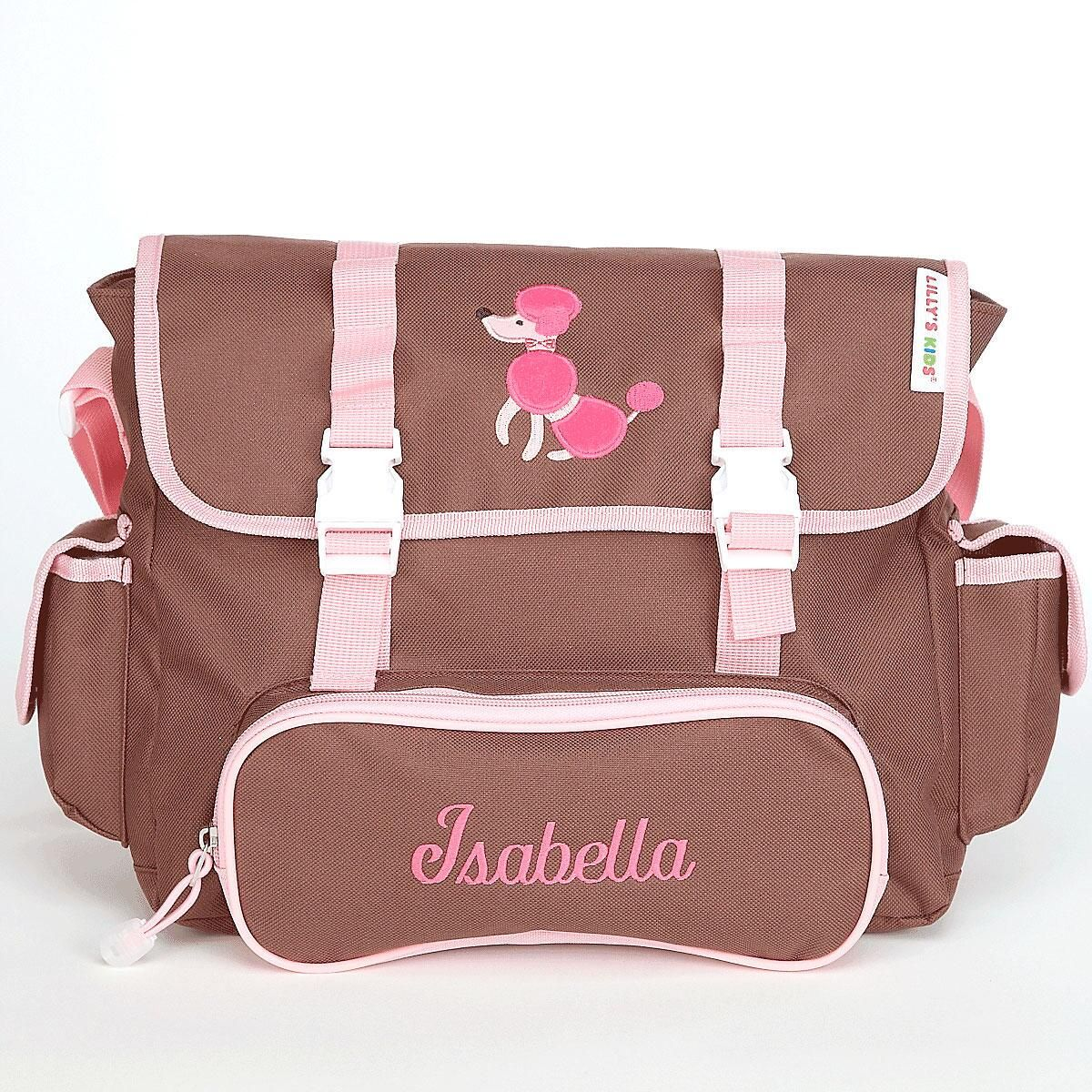 Poodle Messenger Bag