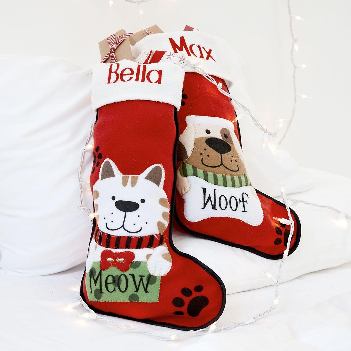 pet fabric stockings dog z814205