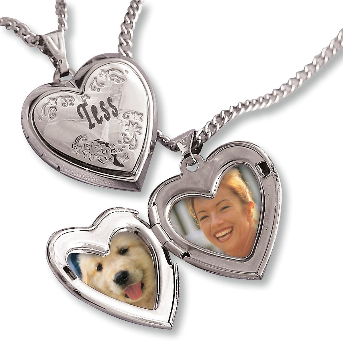 Engraved Love Locket