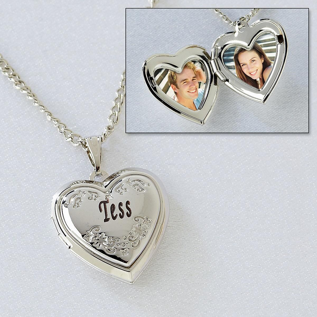 Engraved Love Locket