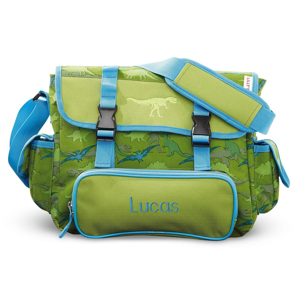 Dinosaur Messenger Bag