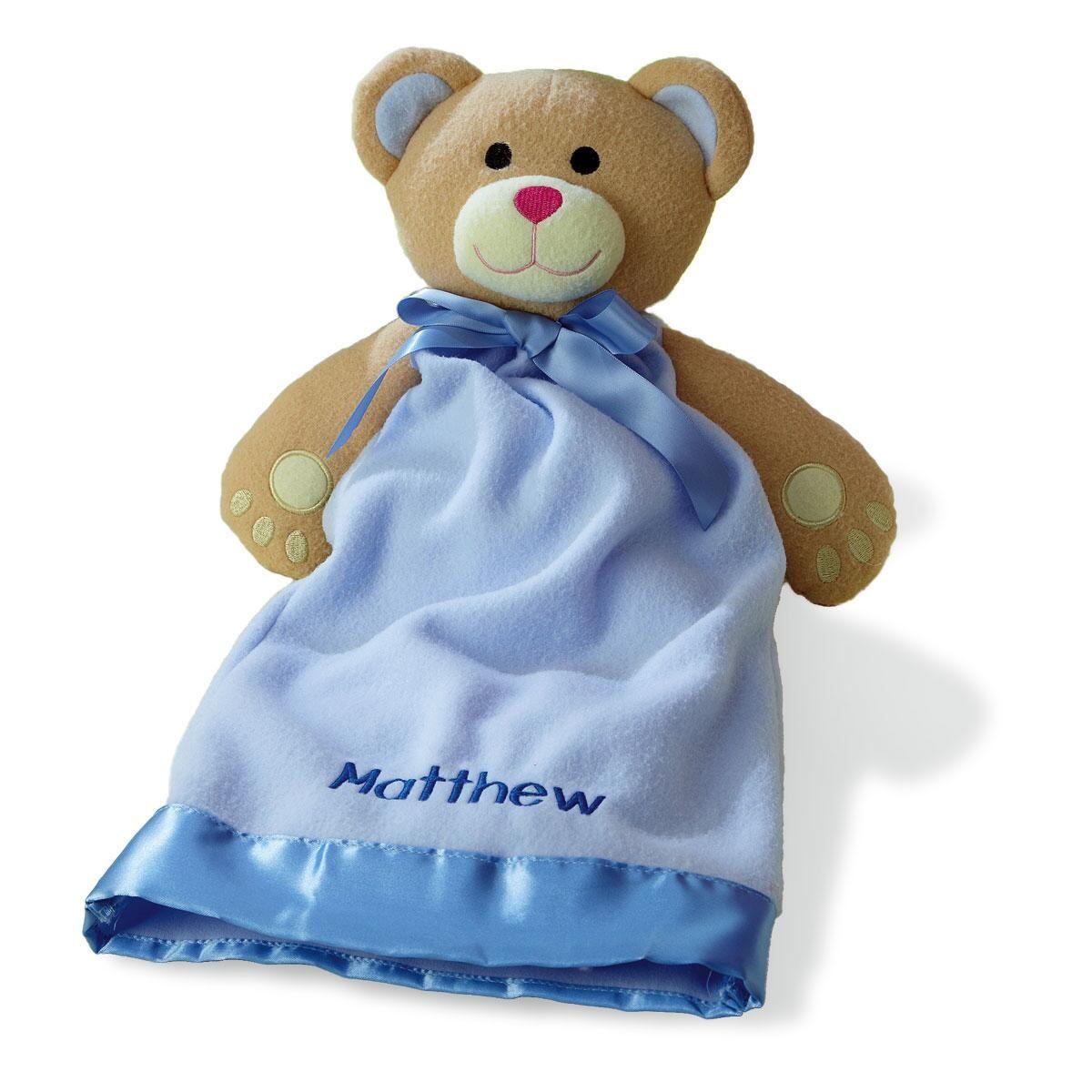 Bear Plush Blanket