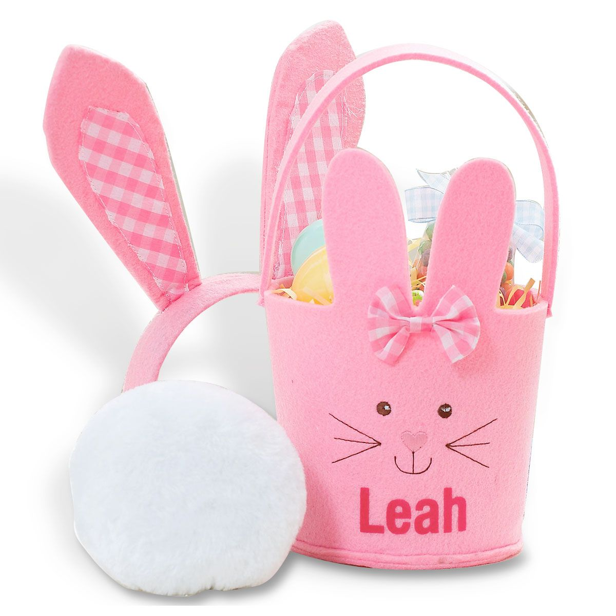 Personalized Bunny Easter Pails
