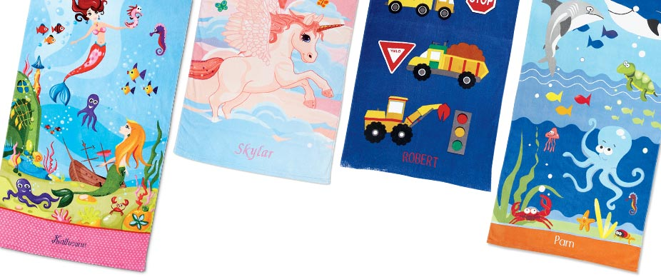 Shop Kids' Beach Towel