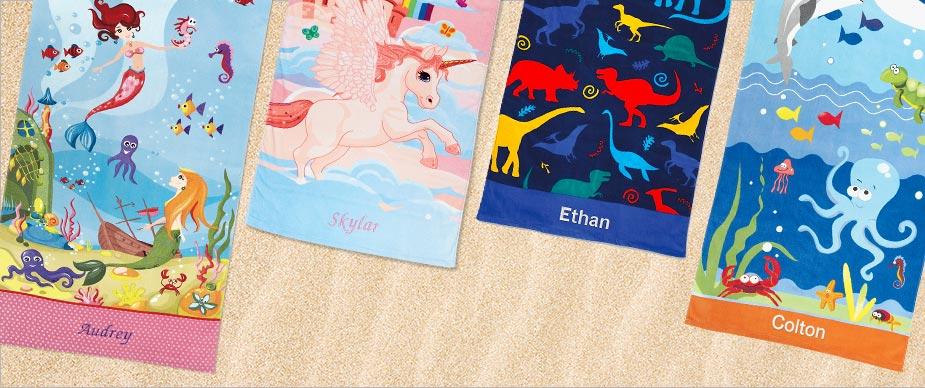 Shop Kids' Beach Towel