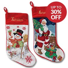 Shop Christmas Stockings at Lillian Vernon