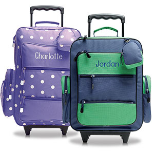 Shop Kids' Rolling Luggage at Lillian Vernon